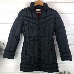 Tommy Hilfiger Small Women's Black Puffer Jacket